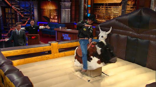 Watch The Late Show with Stephen Colbert: J.B. Mauney Is Really Busy For 8 Seconds A Day - Full show on CBS All Access