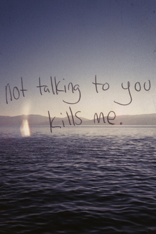 Not Talking To You Pictures Photos And Images For Facebook Tumblr