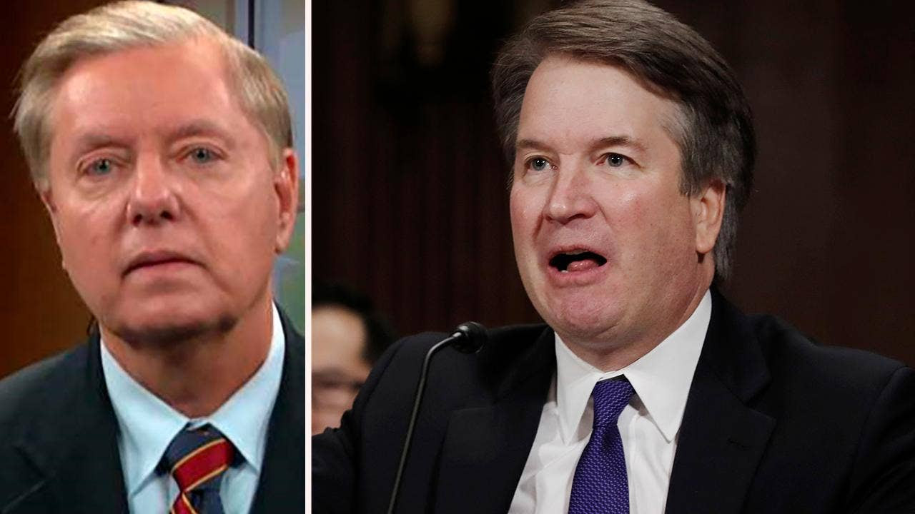 Image result for Graham rips Dems on Kavanaugh, says he'll 'get to the bottom of' FBI probe