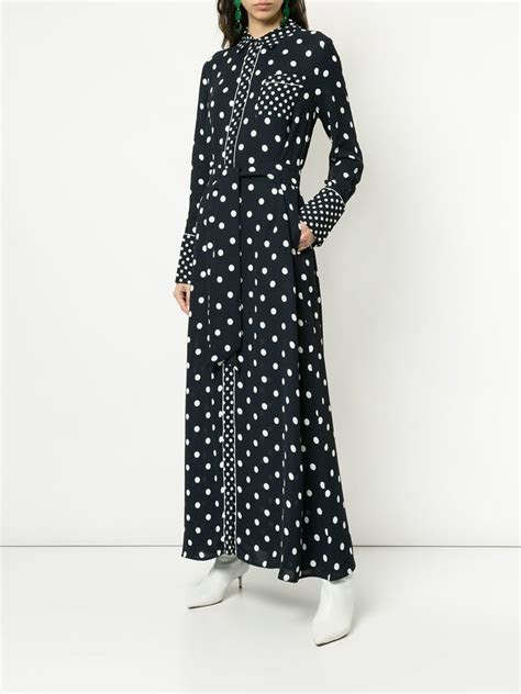Layeur Long Sleeved Printed Dress   Kate Middleton's Polka
