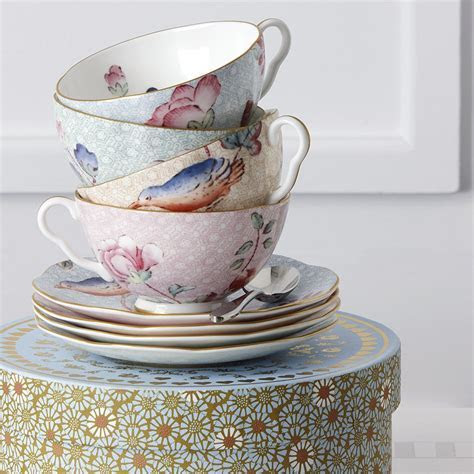 Wedgwood Cuckoo Blue Teacup & Saucer Set   Wedgwood® Australia