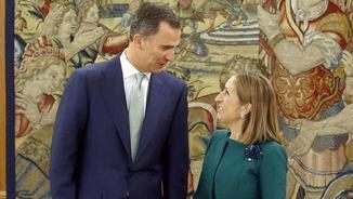El rei ha rebut Ana Pastor a la Zarzuela (EFE)