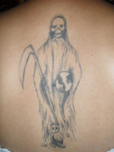 Imágenes De La Santa Muerte Para Tatuar 1 Imágenes De La Santa