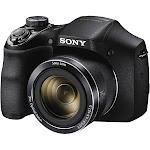 Sony Cyber-Shot DSC-H300 20.1 MP Compact Digital Camera - 720p - Black