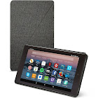 Amazon Flip Cover for Kindle Fire HD 8 7th Generation - Charcoal Black