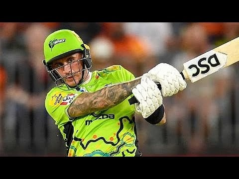 Alex Hales storm arrives in Perth to carry Thunder
