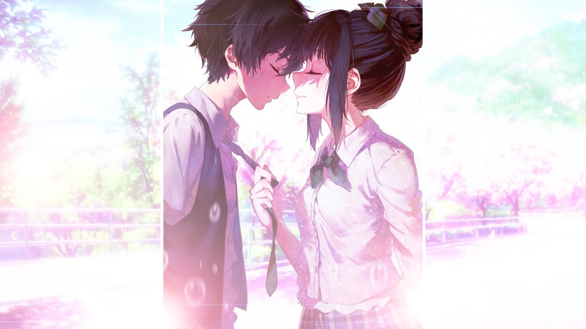 Download 1920x1200 wallpaper anime, couple, eru chitanda ...