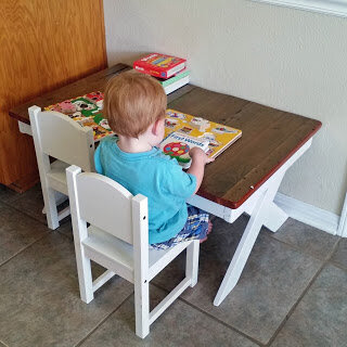 Budget Toddler Table Part Two The Alkire Family
