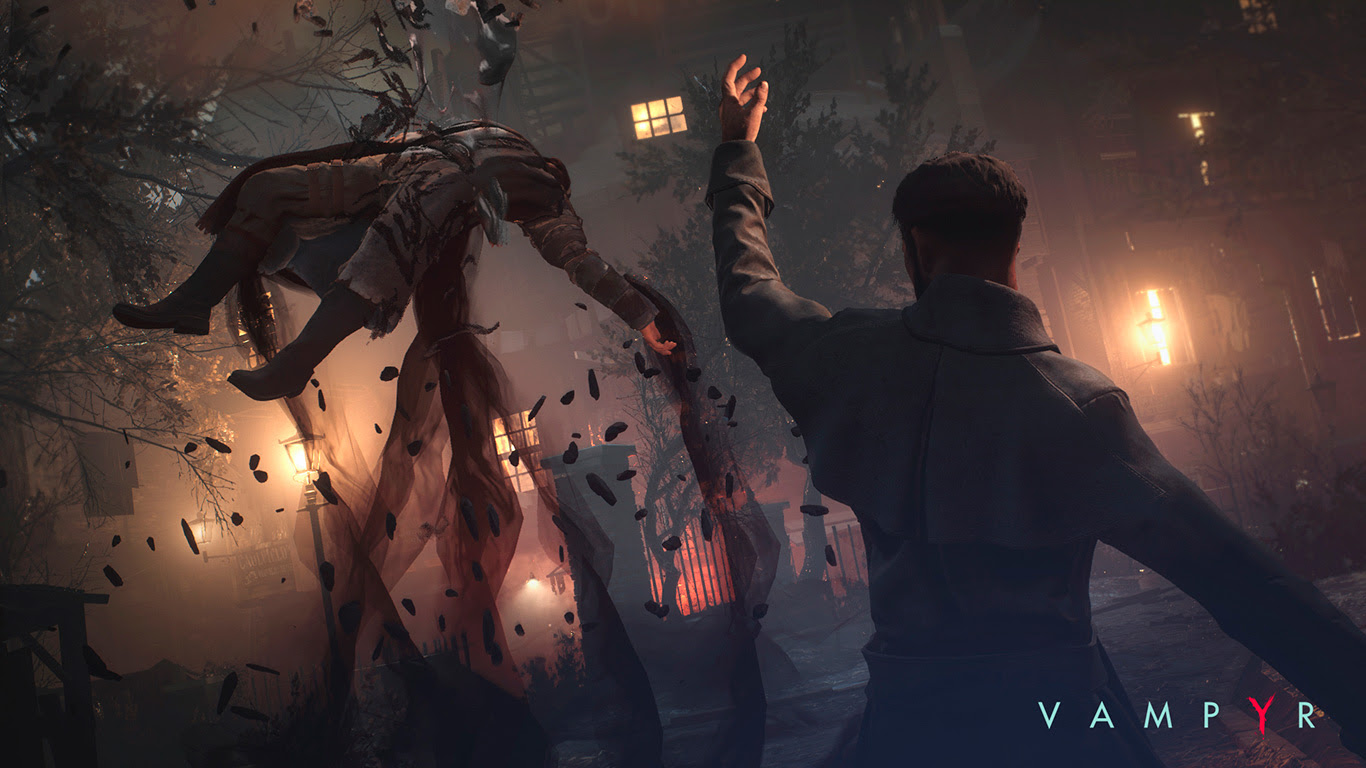 Don't watch this Vampyr E3 trailer in direct sunlight screenshot
