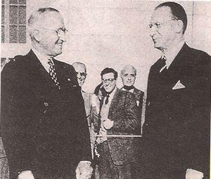 Truman e De Gasperi