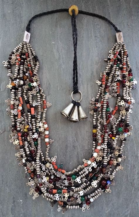 Faouzi Designs   A necklace made from a collection of