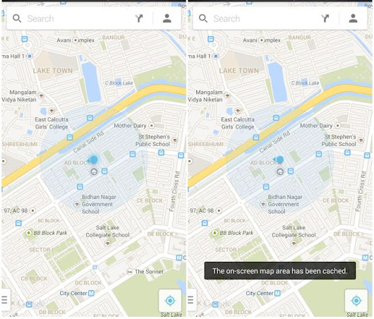 Save Maps For Offline Use In The New Google Maps For Android [How-To] | Cult of Android