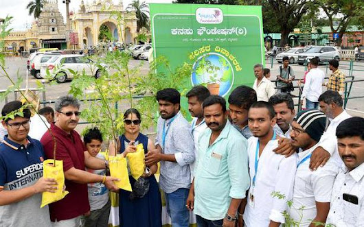 For a greener Mysuru, citizens pledge to plant more trees - The Hindu