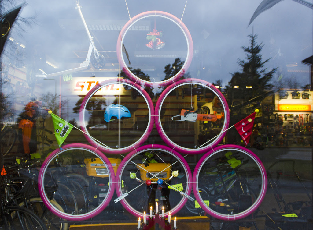 Bike Shop Window