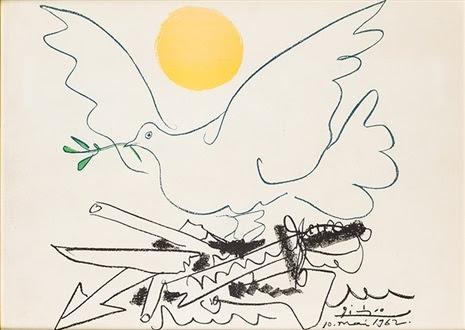 La Paloma De La Paz 1962 By Pablo Picasso On Artnet