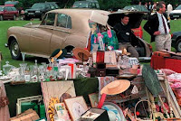 Posh car boot - clearly nowhere near Yeovil