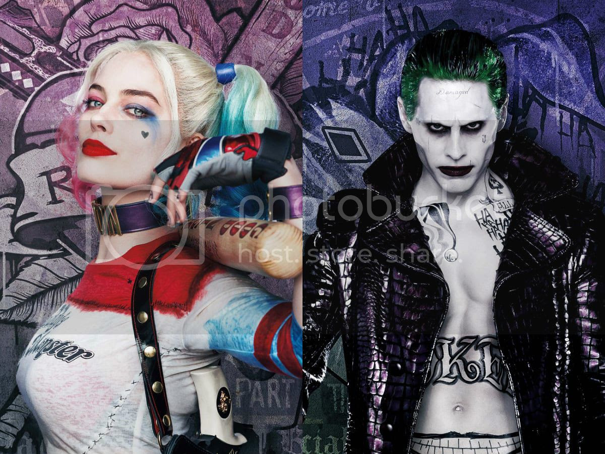 Harley Quinn The Jokers Tattoos In Suicide Squad Ranked By