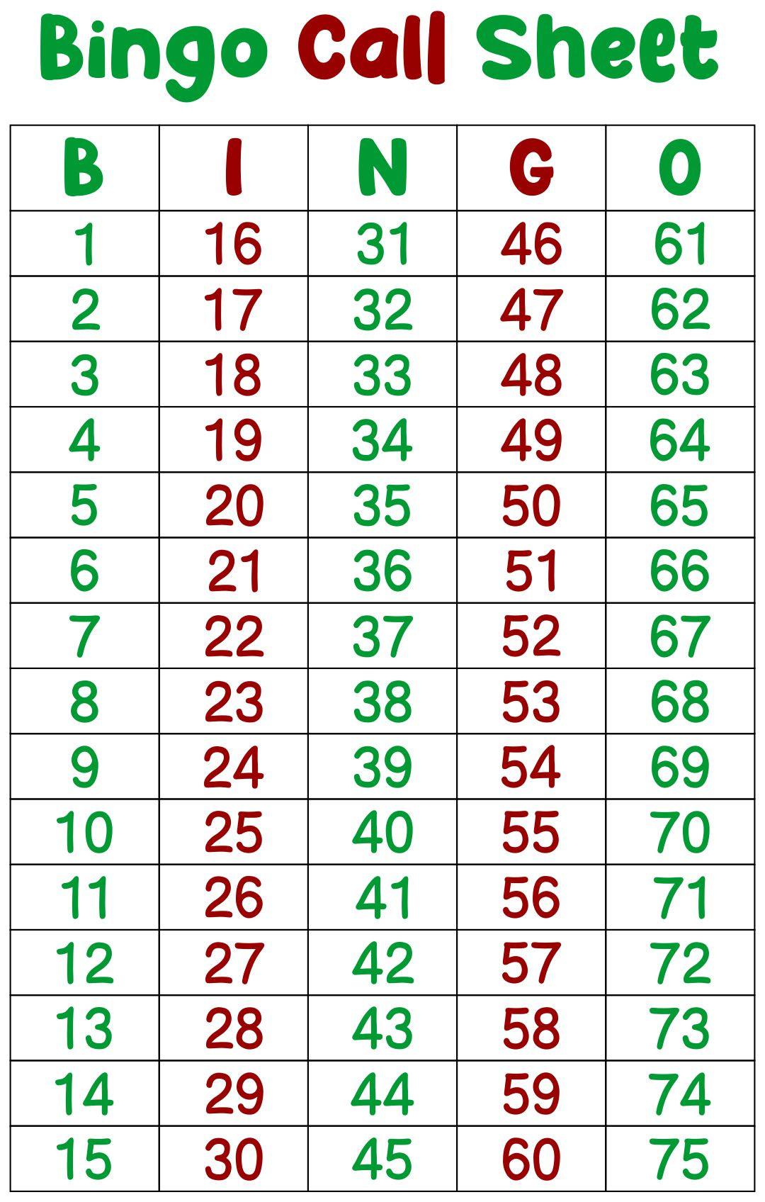 Online bingo caller 75