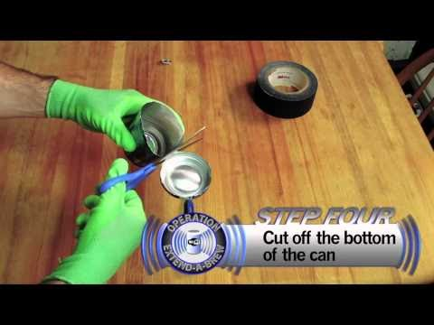 Diy How To Boost Your Wi Fi Signal Using A Beer Can
