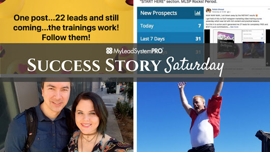 "[Success Story Saturday] Shoutout! ""OMG Please Congratulate Our Brand New L7 Leaders"" • My Lead System PRO - MyLeadSystemPRO"