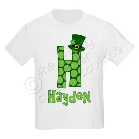 St. Patricks Leprechaun Monogram Shirt Personalized Any Way You Like