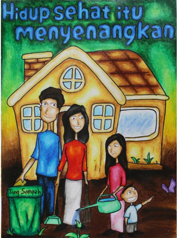Contoh Gambar Poster Keluarga Berencana Contoh Kom
