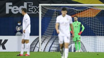 Гончаренко объяснил низкие результаты ЦСКА в Лиге Европы тяжёлом графиком