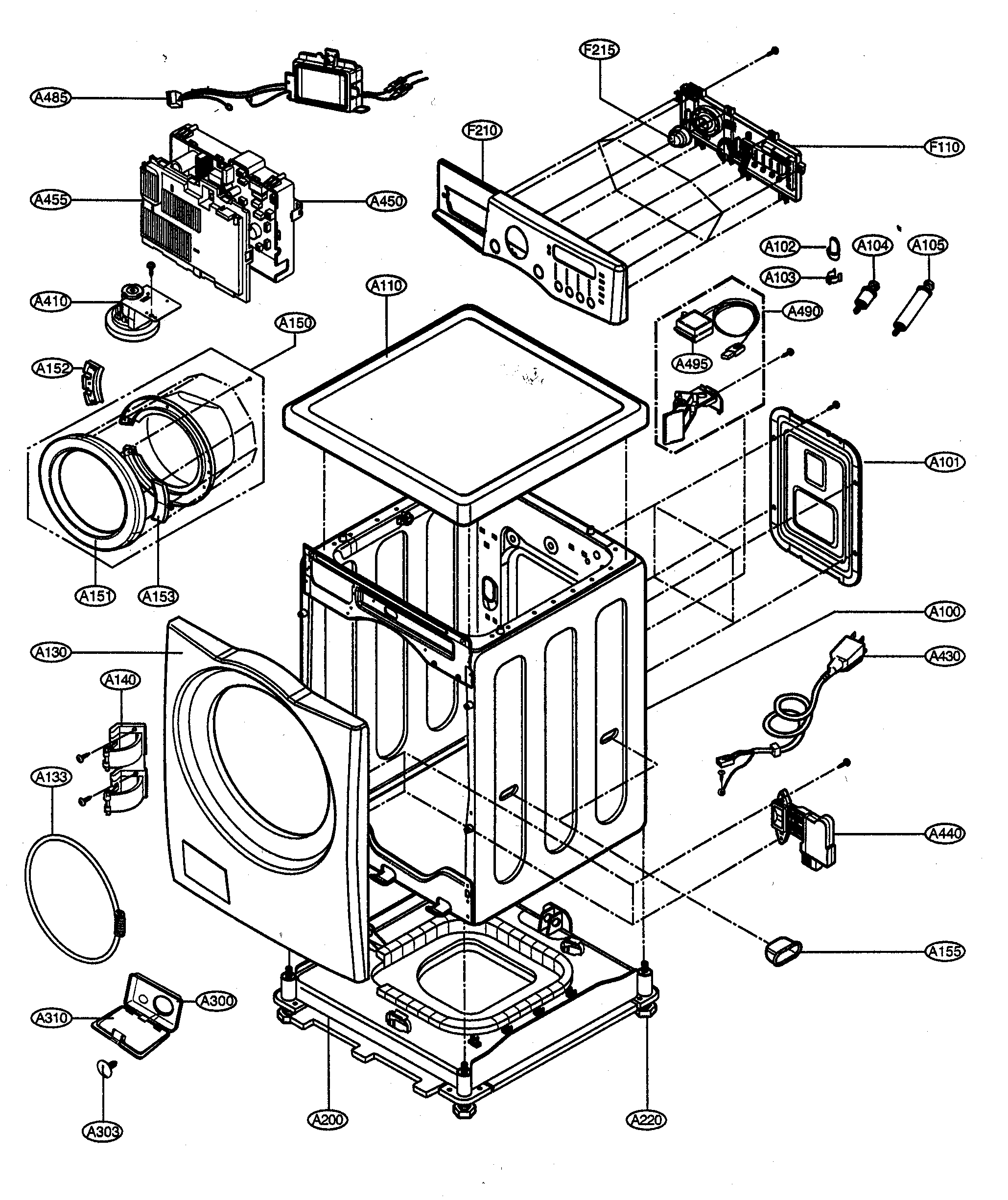 Wiring Diagram  28 Lg Front Load Washer Diagram