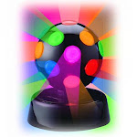 Creative Motion Industries 4 in. Rotating Disco Ball Light