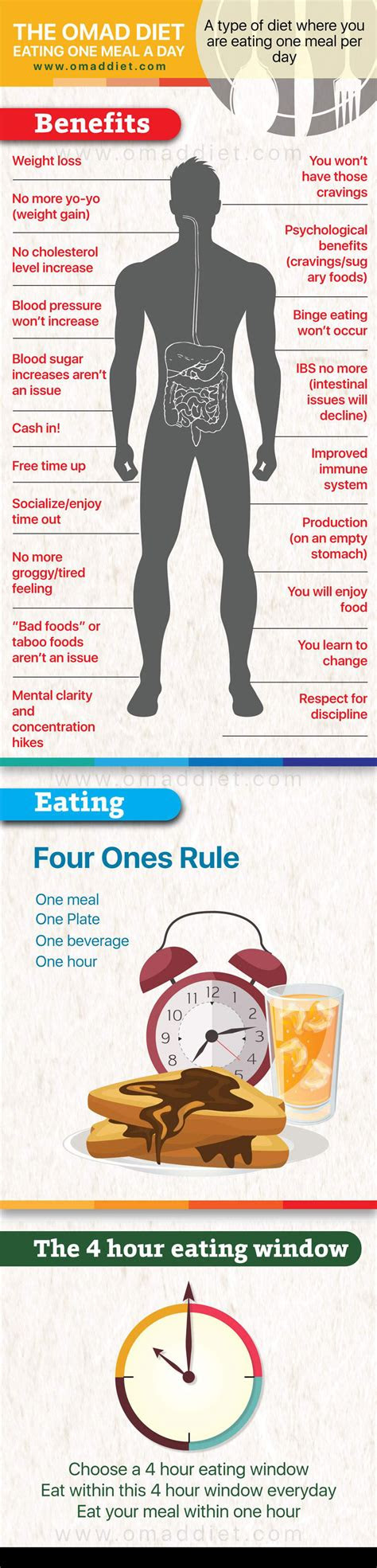 infographic  omad diet infographicbeecom