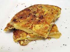 frittata al formaggio,frittata,ricetta frittata,frittata al taleggio,uova,