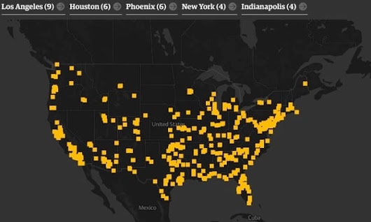 The Counted: the definitive map of US police killings in 2015