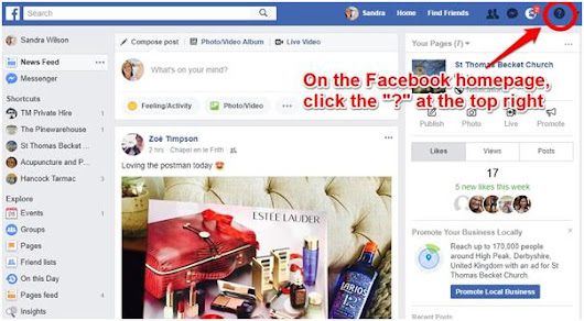 Managing a Business Facebook Page from a Personal Facebook Account