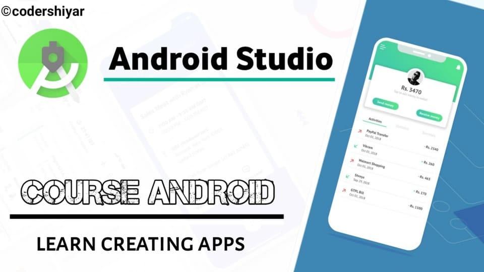 دورة تعلم android studio