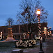 Early December Morning Downtown Millersburg, Ohio SDTMO - jigsaw puzzle (180 pieces)