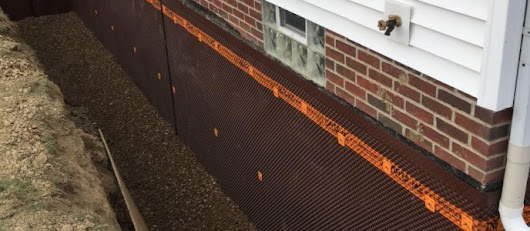 Exterior Basement Waterproofing | Waterproofing a Basement Leaks