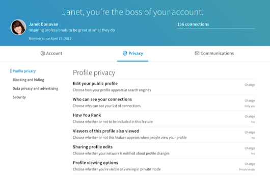Managing Your Settings on LinkedIn is Now Easier Than Ever