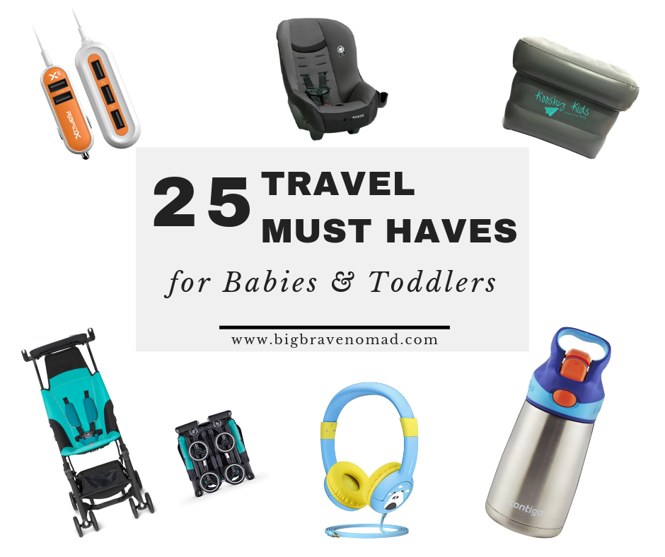 Decoration Home Travelling Essentials For Toddlers