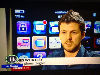 """JAMES WHATLEY, Mobile phone blogger"""