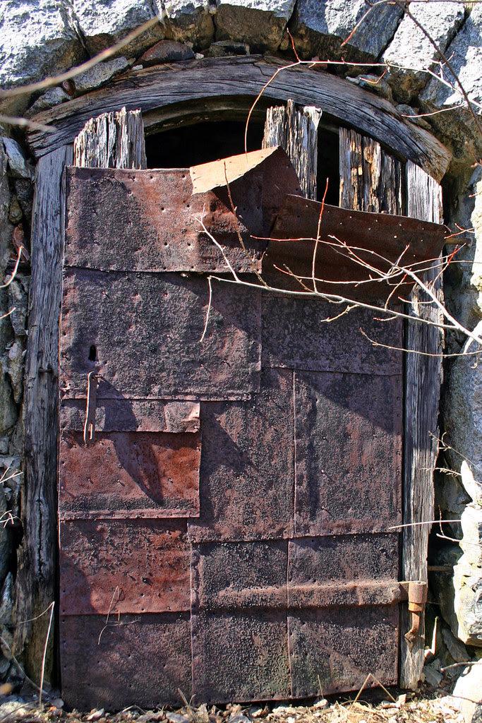 Iron Plated Door