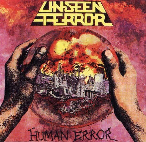 Unseen Terror - Human Error Album Cover