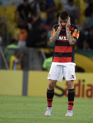 Flamengo x Vasco - Guerrero lamentando (Foto: André Durão)