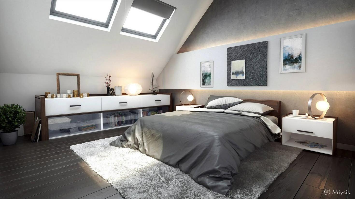 Bedroom Ideas For Attic Home Decor