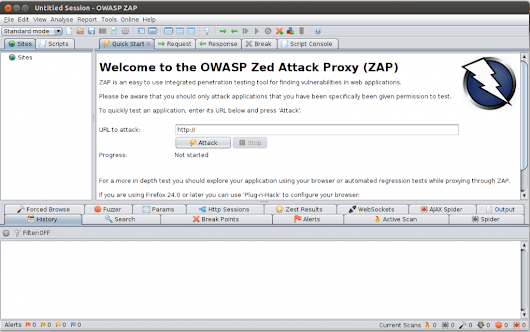 Automated Security Testing of web applications using OWASP Zed Attack Proxy - codecentric Blog