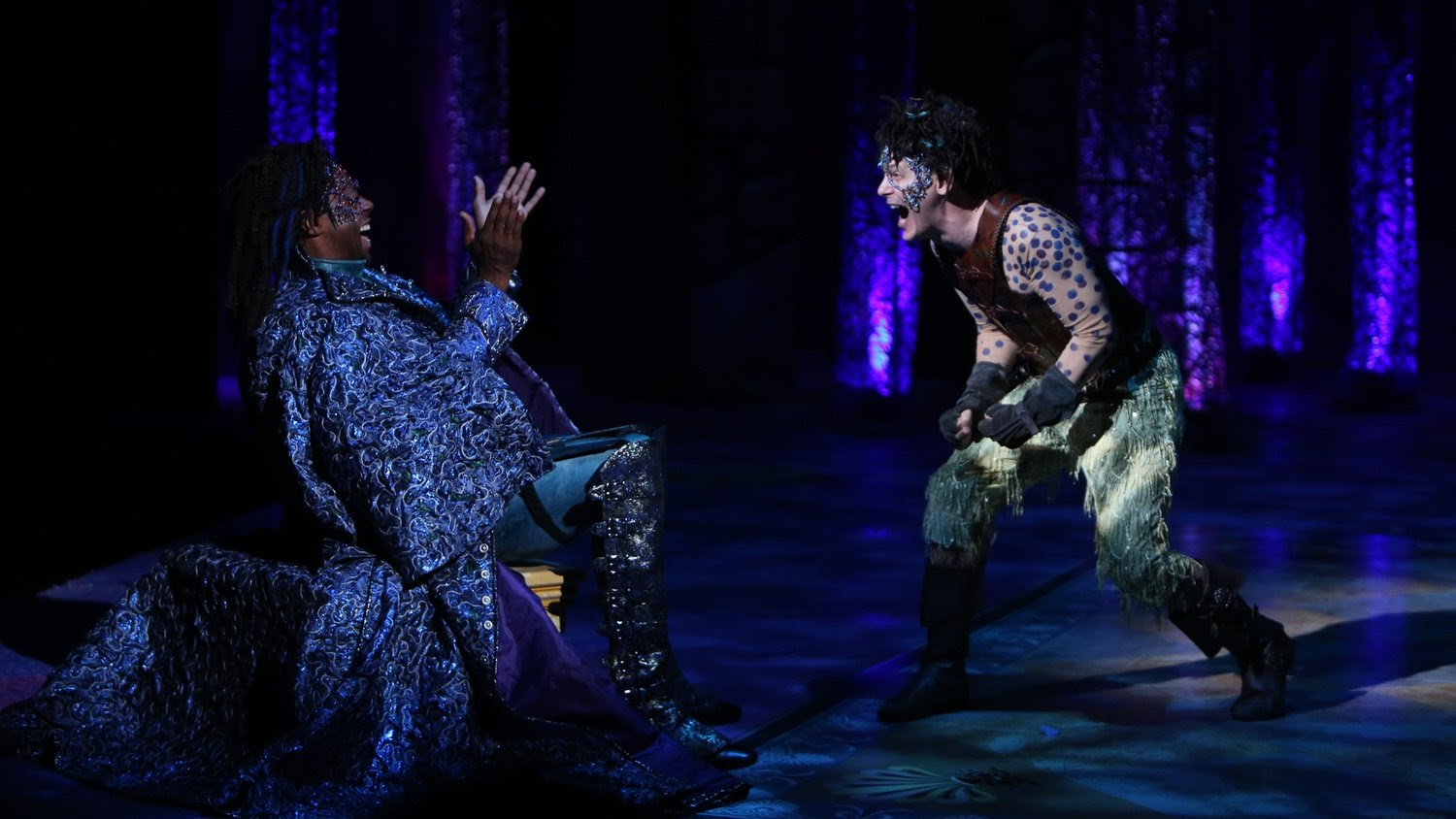 Alvin Keith Jim Poulosa Midsummer Nights Dream At Repertory