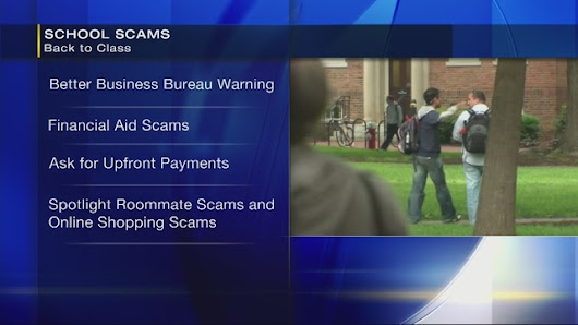 BBB: Scam alert for college students heading back to school