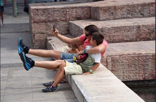 Familia, Madrid, turismo, Selfie, Niños, Planes para el Día del Padre