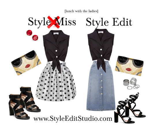 Style Edit {Lunch with the Ladies}