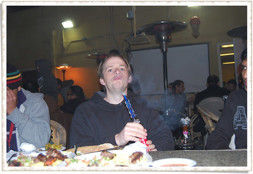LA - Joe smoking Hookah