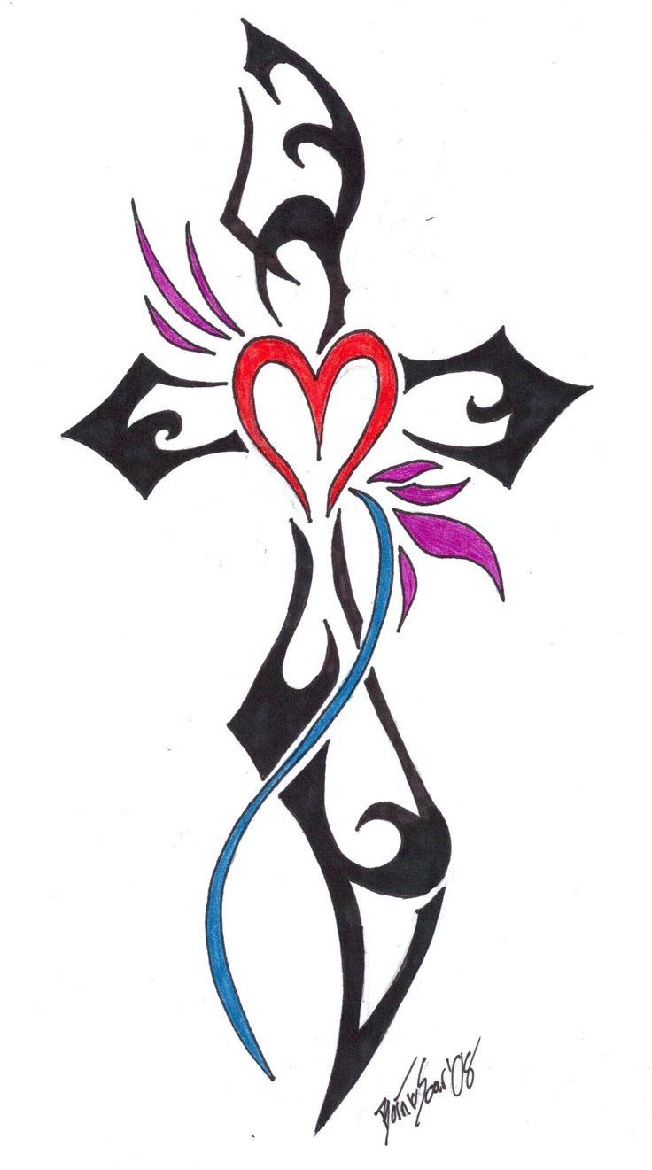 Tribal Flower Tattoo Designs Flowers Healthy